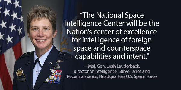 Space Force Prepares to Launch National Space Intelligence Center