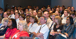The audience at the June 17 morning panel.