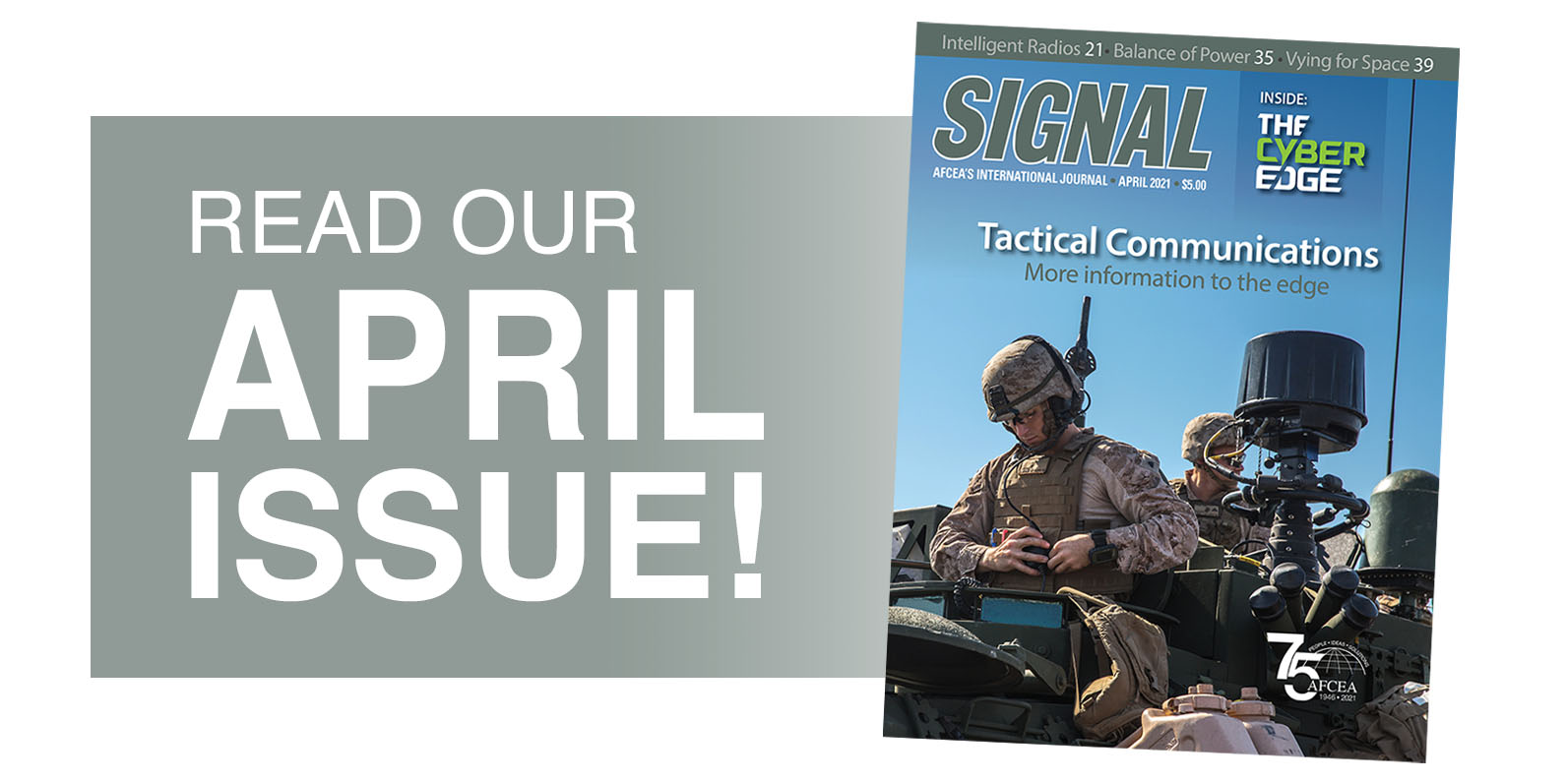 SIGNAL April Issue