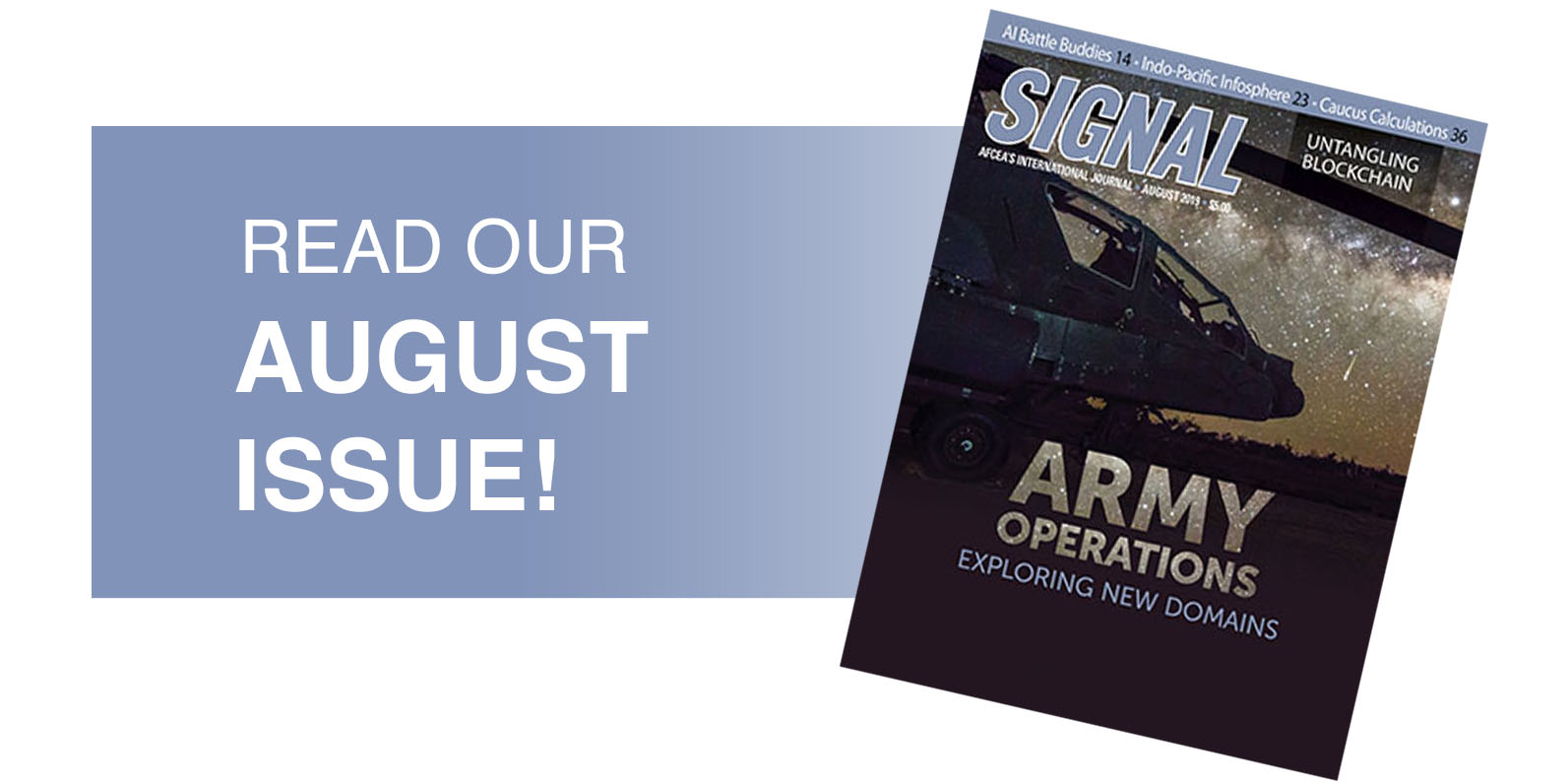 SIGNAL August Issue