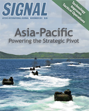 SIGNAL November 2013 Cover: Asia-Pacific, Tactical Operations