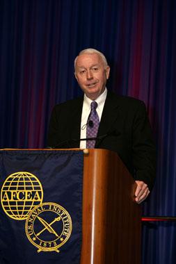 Booz Allen Hamiltons chairman and CEO Dr. Ralph Shrader