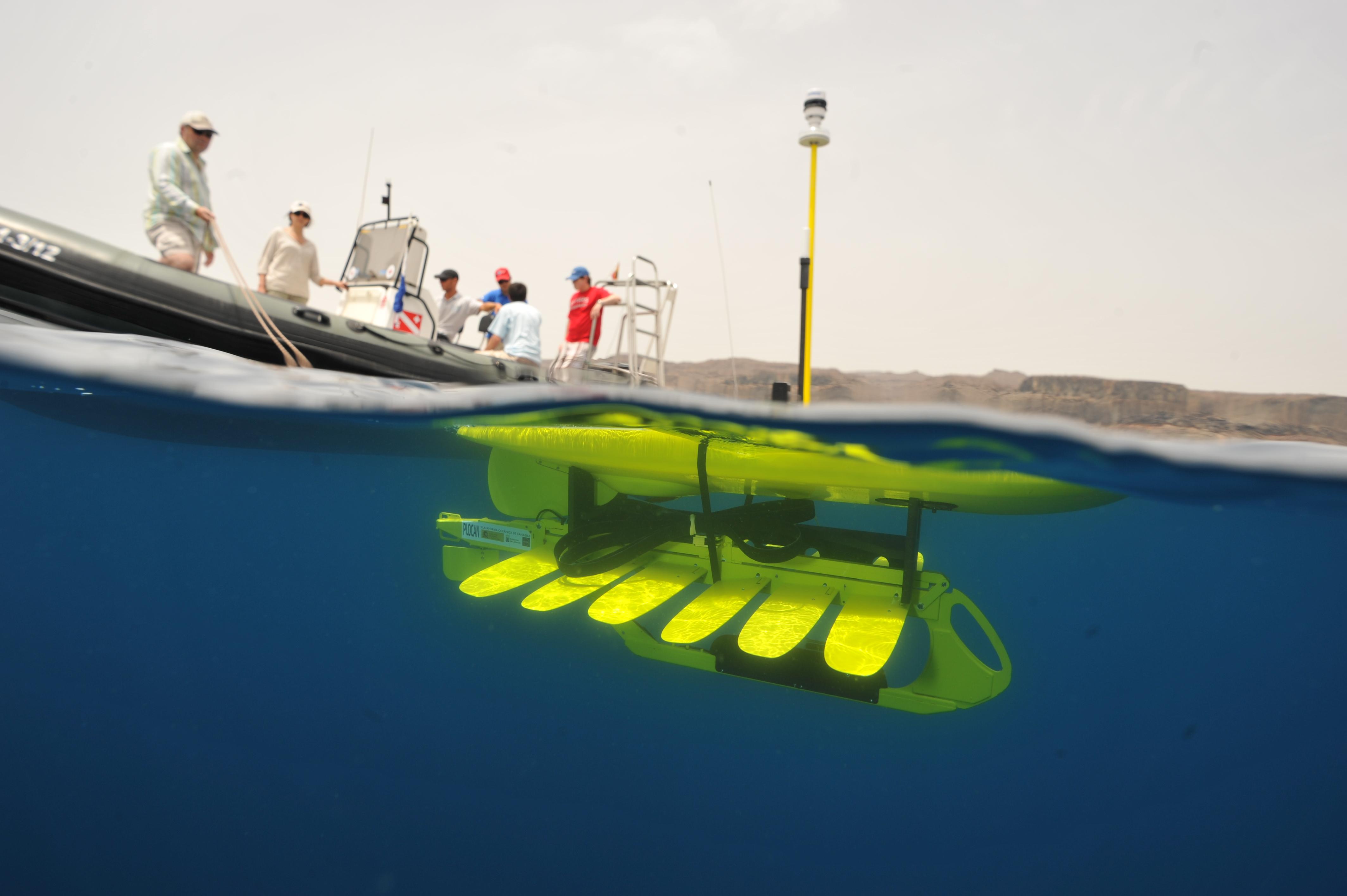 Ocean Drone Collects Data During Typhoon Rammasun Signal