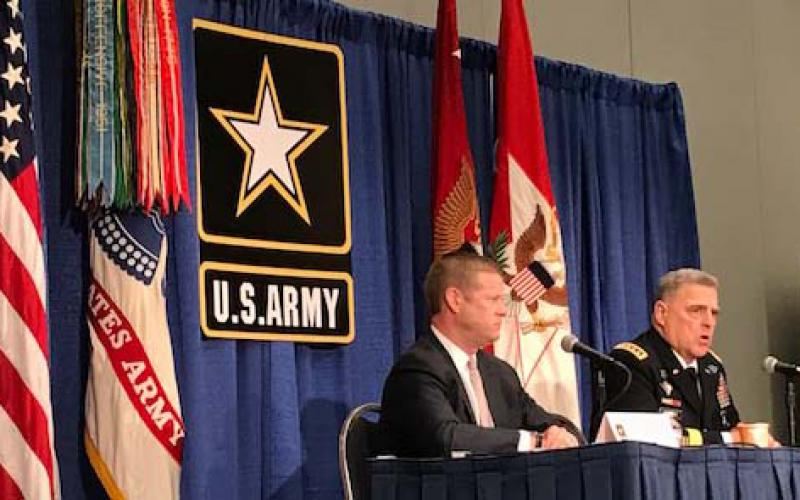 At the Association of the U.S. Army Annual Meeting, Acting Secretary of the Army Ryan McCarthy and Gen. Mark Milley, USA, Army chief of staff, unveil plans to improve the Army's acquisition process and modernize the force.