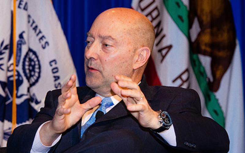 Adm. James Stavridis, USN (Ret.), operating executive for The Carlyle Group and former supreme allied commander of NATO, says the United States is not adequately prepared for the threat level confronting cyberspace.