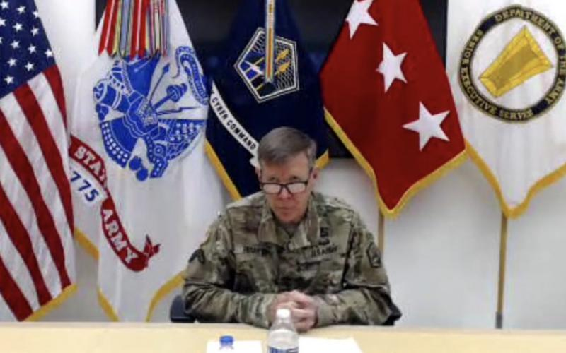 Lt. Gen. Stephen G. Fogarty, USA, commander, U.S. Army Cyber Command, delivers the opening keynote in Episode Three of the TechNet Augusta Virtual Solutions Series.