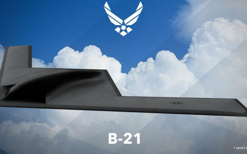 The Air Force has reactivated a flight test squadron to take on testing of the next-generation bomber. Credit: Graphic courtesy of the Air Force