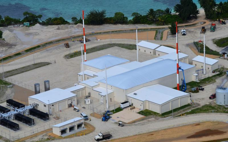 """The Air Force's new Space Fence solution, installed in the Marshall Islands on the Kwajalein Atoll, will provide """"unprecedented"""" situational awareness in space, the Space and Missile Systems Center reports. Photo courtesy of Lockheed Martin"""