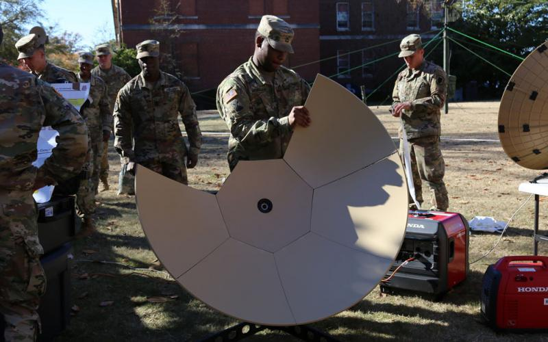 Leaders Outline Plan for the Army's Integrated Tactical Network