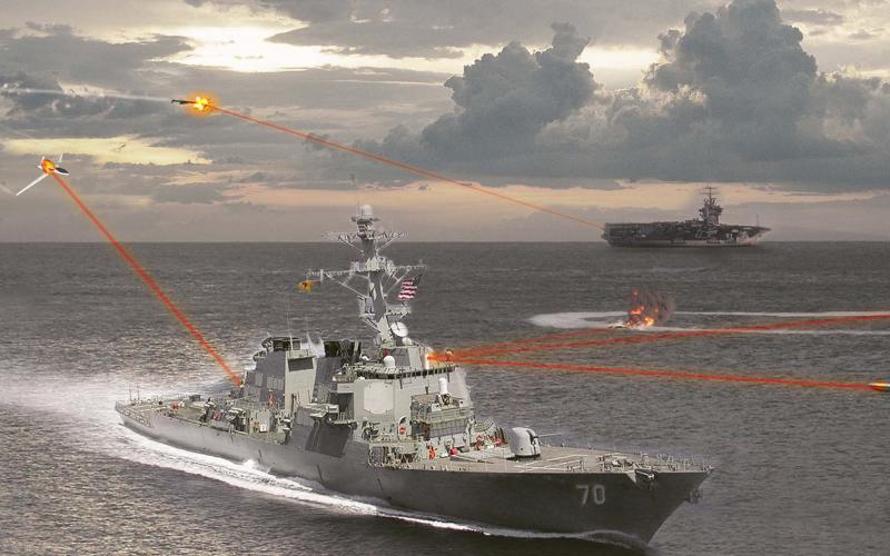 Northrop Grumman Wins Potential 91 Million Laser Weapon