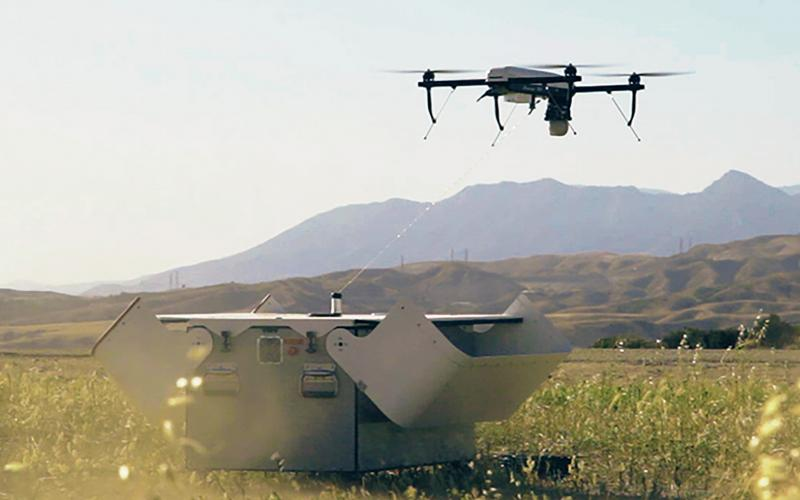 The AeroVironment Tether Eye UAS is being evaluated for the counterterrorism mission.