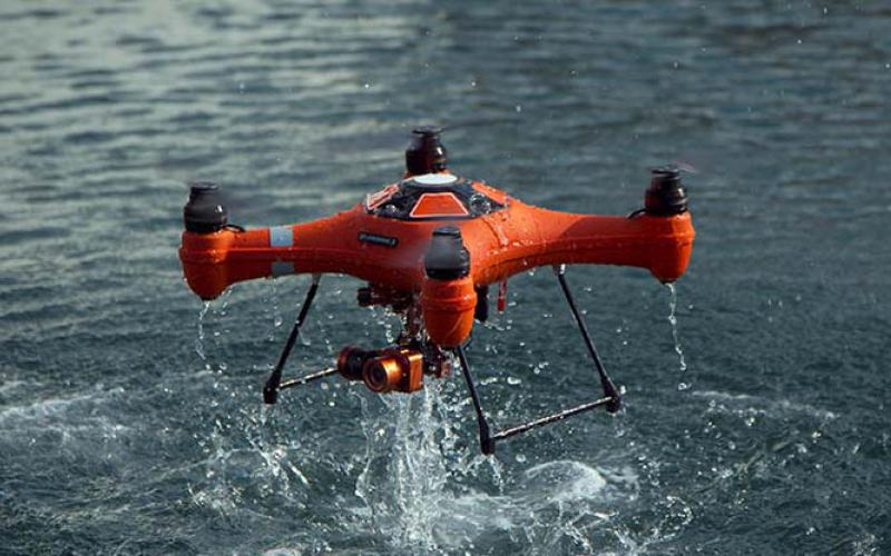 SwellPro's waterproof drones shoot video both above and below the water. In an effort to keep airspace safe, NASA is funding research into UAV system detection and tracking.