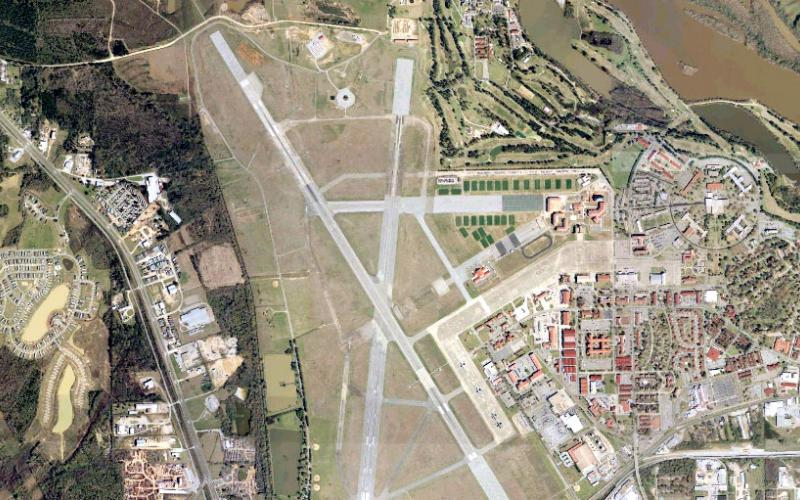 The U.S. Air Force is extending its smart base pilot program at Maxwell-Gunter Air Force Base, Montgomery, Alabama. Credit: Wikimedia Commons
