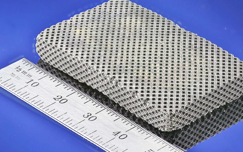 Researchers have created a 3-D printed lattice that offers both strength and flexibility and may benefit the defense and aerospace industries.