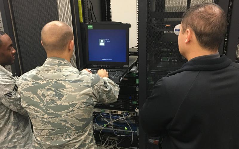 While the migration to the Joint Regional Security Stacks will transition ownership of security architecture from the Air Force to DISA, the squadron will retain operational control of traffic flow for Air Force networks. U.S. courtesy photo