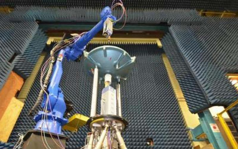 A robot may be the ultimate innovation, extending measurements to higher frequencies while characterizing antennas faster and more easily than previous NIST facilities.