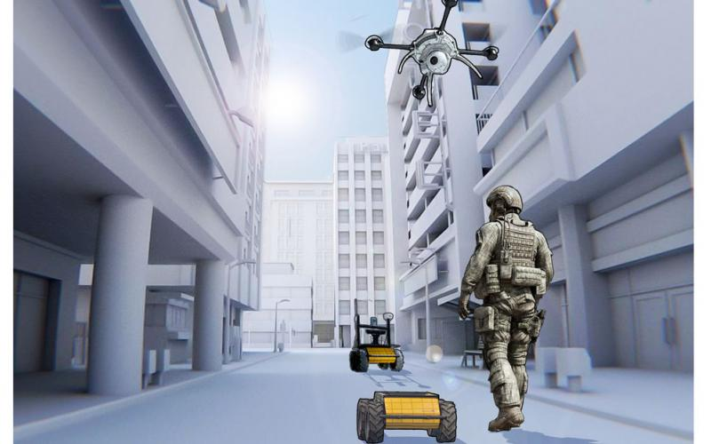 Northrop Grumman's team is launching an open architecture testbed and seeking participants to create and test their own swarm-based tacking on the platform as part of DARPA's OFFensive Swarm-Enabled Tactics program.