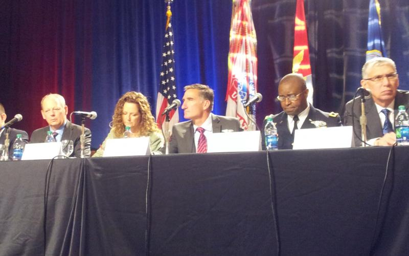 A TechNet Augusta panel discusses critical infrastructure protection.