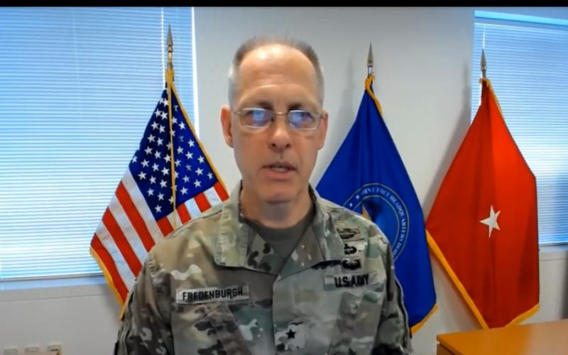 Brig. Gen. Paul Fredenburgh III, USA, is the deputy commander, JFHQ-DODIN.