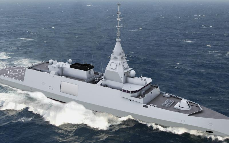 Thales has been selected to provide a number of advanced systems for the French navy's future frigates.