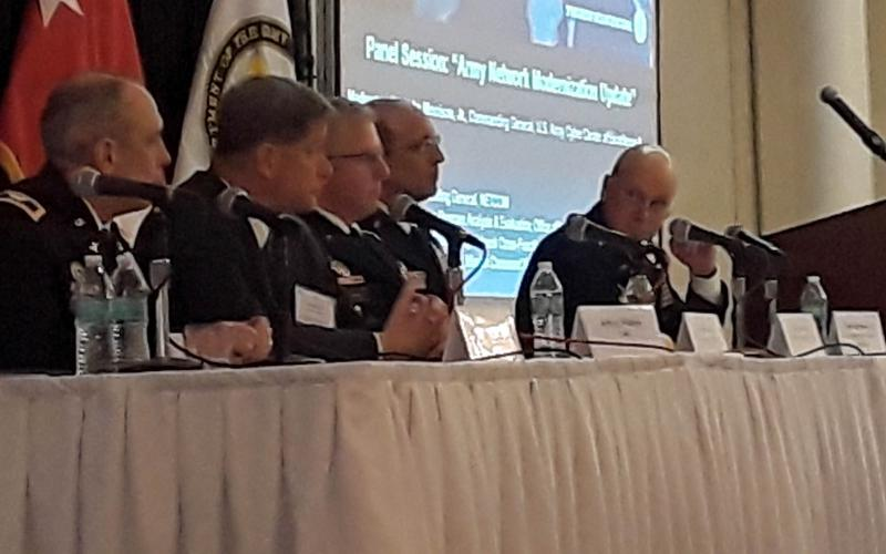 At the AFCEA Army Signal Conference, panelists discuss the military budget and readiness.