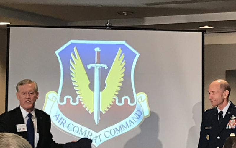 The Air Force is standing up a new Information Warfare Numbered Air Force this fall, which will help support the service and the U.S. Combatant Commands, says Gen. Mike Holmes, USAF, commander, Air Combat Command, at an Air Force Association event on August 23.
