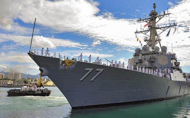 The USS O'Kane stands ready in Hawaii. The new radar system the Navy is testing would help safeguard the fleet from both ballistic and cruise missile threats. U.S. Navy photo by Mass Communication Specialist 3rd Class Diana Quinlan
