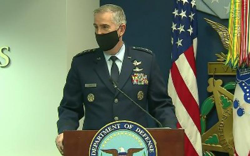 The vice chairman of the Joint Chiefs of Staff, Gen. John Hyten, USAF, notes that Lt. Gen. Robert Skinner brings great leadership, not only in cyber, networks and communications, but also in human resources.