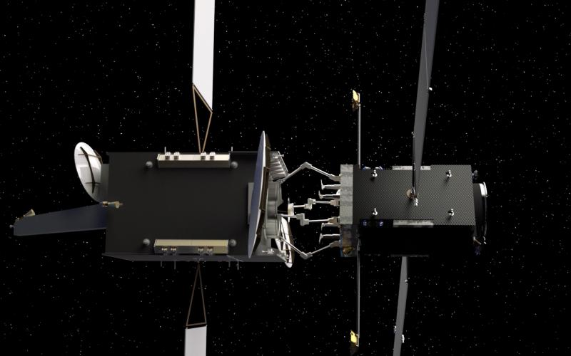 Kurs Orbital is integrating its established rendezvous and docking technology with computer vision, radar capabilities and robotics to create an on-orbit servicing spacecraft fleet for satellites in different orbits. Credit: Kurs Orbital
