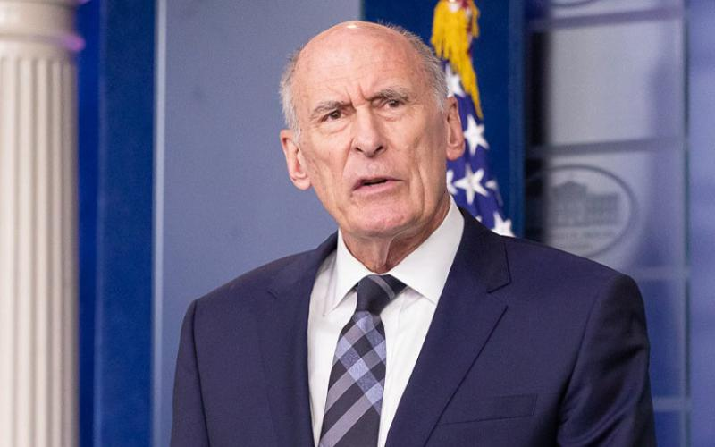 "Director of National Intelligence Dan Coats, pictured at a recent White House briefing, is calling for the intelligence community to ""do things differently,"" given the severe threats and complex adversarial environment the United States is facing.  Photo courtesy of ODNI"