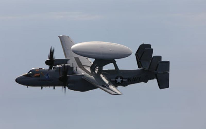 U.S. Navy procures another E-2D Advanced Hawkeye.