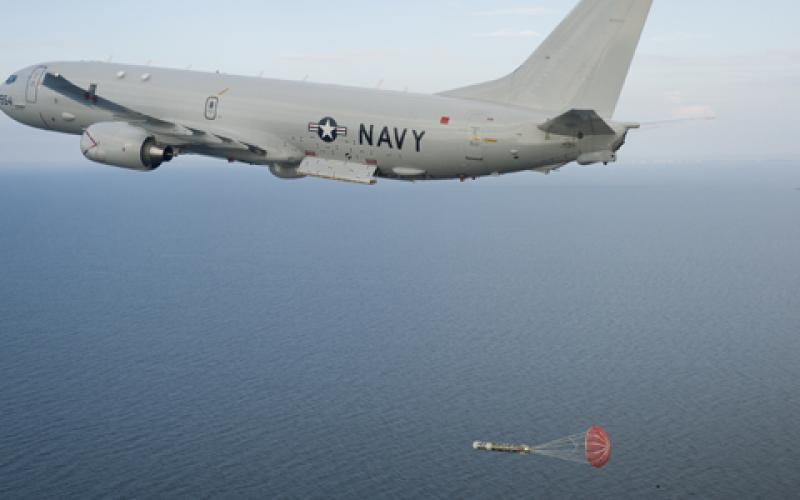 The P-8A Poseidon launches an exercise torpedo. The Boeing Company is being awarded a $1,489,387,310 modification to a previously awarded firm-fixed-price contract for nine Navy Lot II P-8A aircraft and four Royal Australian Air Force Lot II P-8A aircraft.