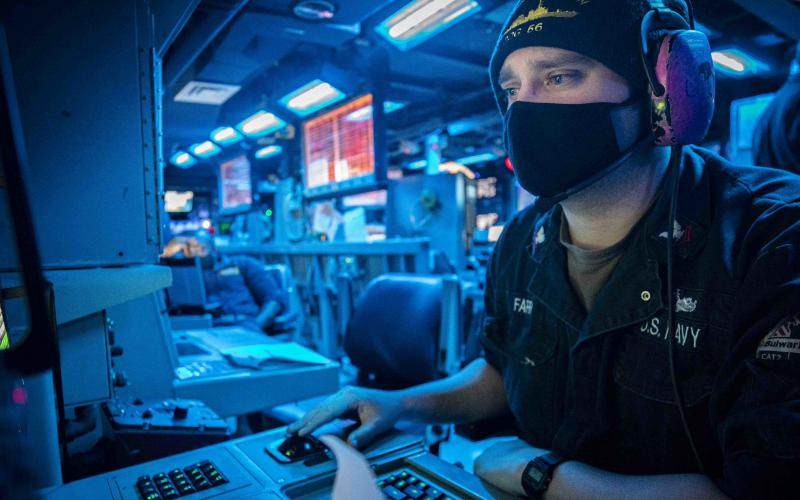 The Navy is exploring advances in machine learning and artificial intelligence handle the rapidly increasing amount of sensor data flooding naval intelligence systems. Credit: U.S. Navy photo