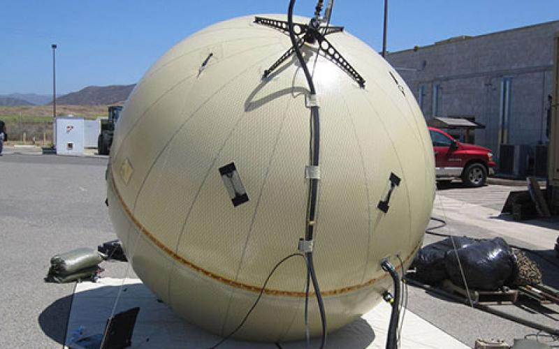 The U.S. Army's Program Executive Office Command, Control and Communications-Tactical (PEO C3T) is in the process of fielding the Transportable Tactical Command Communications (T2C2) capability to warfighters. Manufactured by GATR Technologies, the inflatable satellite antenna takes less than 35 minutes to set up.