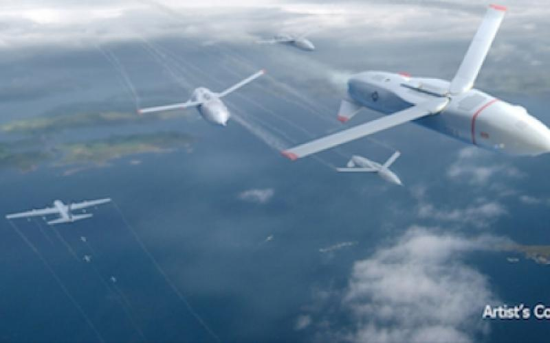 DARPA's Gremlins program seeks to develop innovative technologies and systems that would enable aircraft to launch volleys of low-cost, reusable unmanned aerial systems and safely and reliably retrieve them in midair.