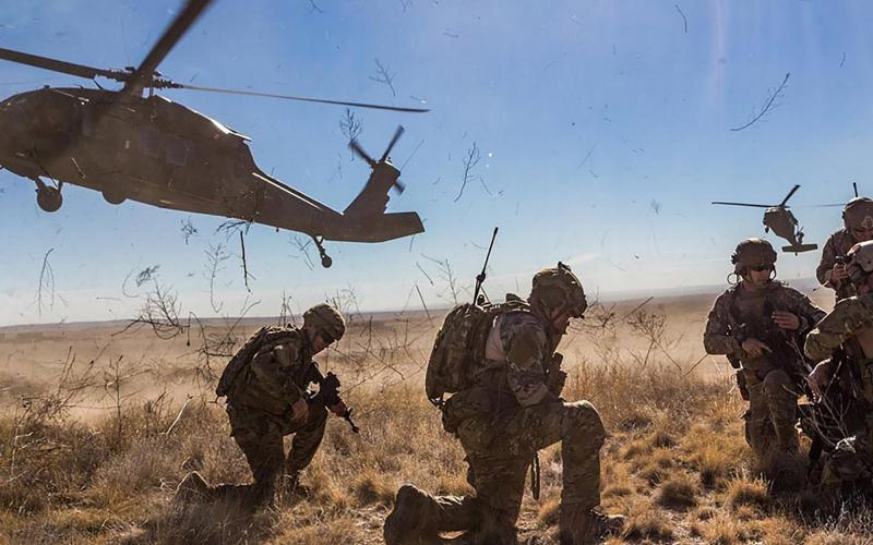 The U.S. Army's concept of command-centric network operations gives commanders greater authority and responsibility for network operations and relies on big data to enable faster, more effective decision making. U.S. Army photo