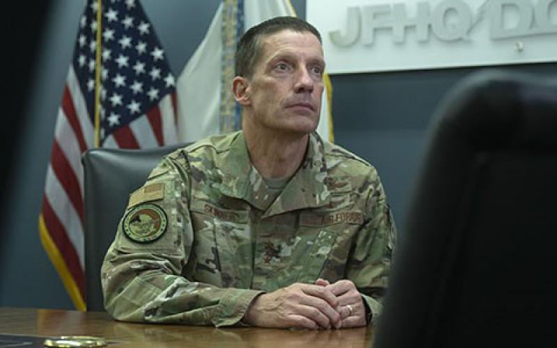 Lt. Gen. Robert J. Skinner, USAF, DISA director and Joint Force Headquarters (JFHQ) DODIN commander, views five distinct lines of effort as the key to DISA's new strategy. (DISA photo)