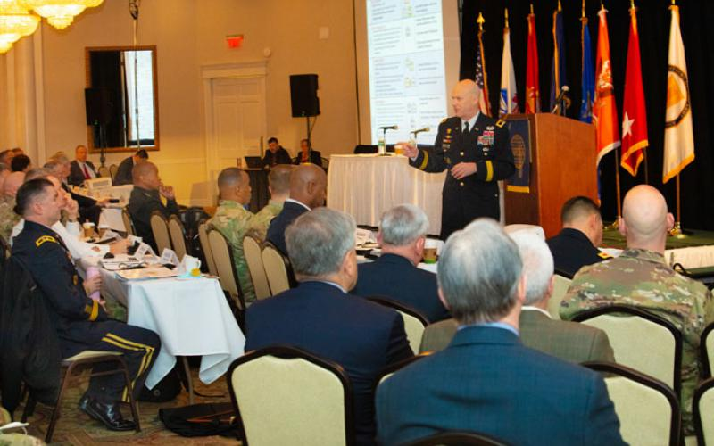 Maj. Gen. John B. Morrison Jr., USA, assumed the duties of chief of staff U.S. Cyber Command in June 2019. At the 2019 AFCEA Army Signal Conference, spoke about the importance of cyber situational awareness.