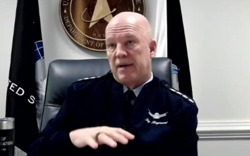 Gen. John Raymond, USSF, chief of space operations, is seeing increased cooperation among the new U.S. Space Force and international partners.