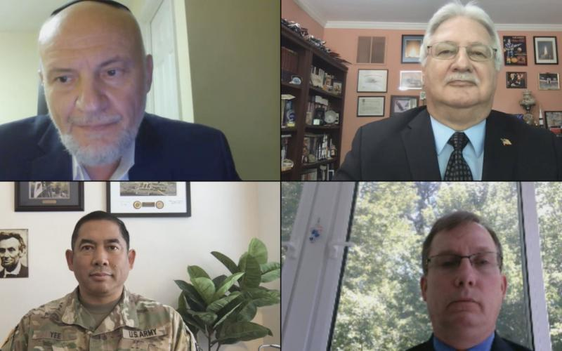 Military and government leaders share their insights about cybersecurity challenges in the age of pandemics.