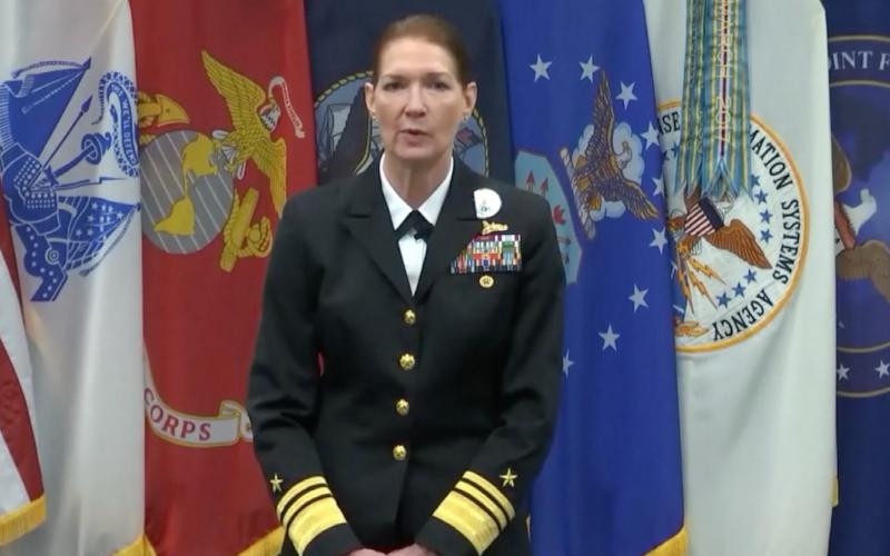 Vice Adm. Nancy Norton, USN, director, Defense Information Systems Agency and commander, JFHQ-DODIN, in outlines the agency's annual Forecast to Industry, stresses that any cyber solution presented by industry must be scalable, well tested and mission effective.