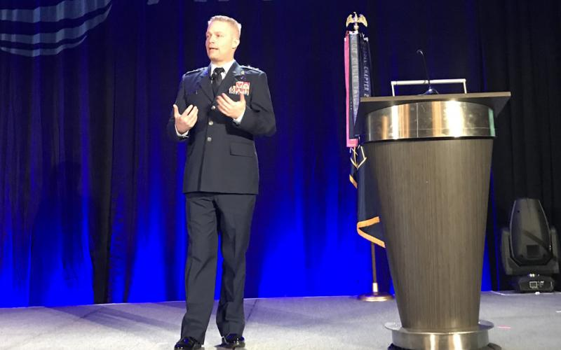 The 16th Air Force (Air Forces Cyber) provides information warfare capabilities to all of the U.S. Air Force's air components and several U.S. Combatant Commands, as well as cyber representation to the U.S. Cyber Command, explains Lt. Gen. Timothy Haugh, USAF, commander, 16th Air Force (Air Forces Cyber) at the AFCEA Alamo Chapter's ACE event.