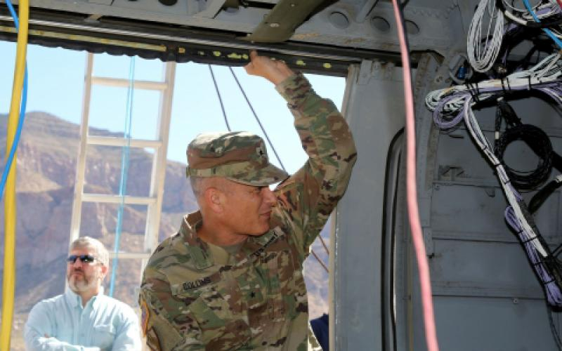 The Army is working to advance how it integrates sensors to improve intelligence and Mission Command capabilities, says Brig. Gen. Robert Collins, USA, program executive officer, Intelligence, Electronic Warfare and Sensors.  U.S. Army/PEO IEW&S