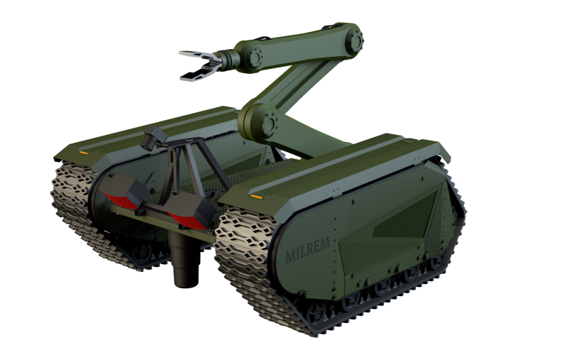 The THeMIS, developed by Estonia-based company Milrem, is an unmanned ground vehicle (UGV) that can be adapted to a number of battlefield missions.
