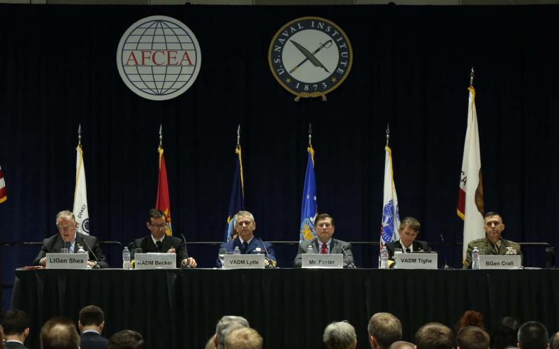 A panel at West 2017 discusses information warfare. Photo by Mike Carpenter