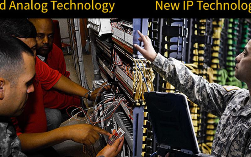 Fort Leonard Wood is the first Army site to transition to a modernized, Internet protocol-based network. Credit: U.S. Army photo