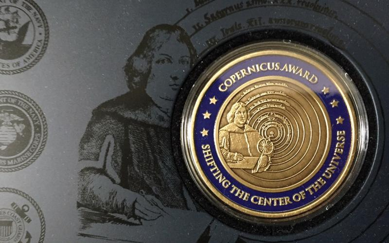 The Copernicus Award program recognizes individuals from the sea services who have made a significant, demonstrable contribution to naval warfare in command, control, communications, computers and intelligence (C4I), information systems and information warfare.