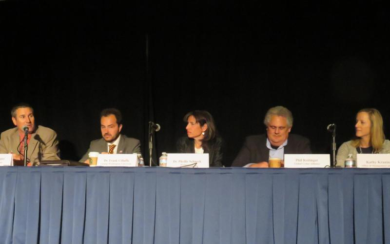 Experts from government, industry and academia participated on a variety of cyber focused panels as part of the first day of AFCEA's Homeland Security Conference.