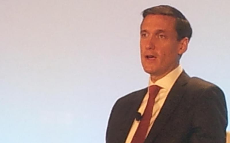 Tom Bossert, assistant to the president for homeland security and counterterrorism, speaks at the 2017 Intelligence and National Security Summit.