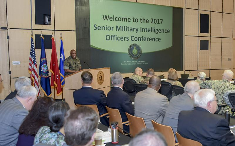 DIA Director Lt. Gen Vincent Stewart, USMC, who was recently tapped to become U.S. Cyber Command's deputy commander, says analyzing and distributing the growing amount of data the intelligence community collects is a constant challenge.